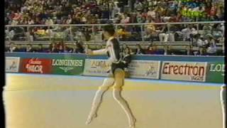 Maria Petrova BUL Hoop 1993 Alicante WCh Team Competition