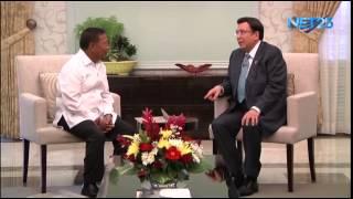VP Binay's courtesy call to Iglesia Ni Cristo Executive Minister Bro. Eduardo V. Manalo