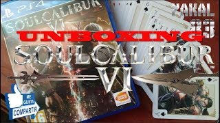 SoulCalibur VI   PS4   Unboxing by Yakal83