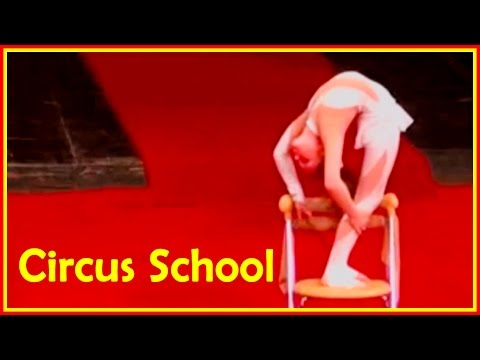 Amazing Contortion Girls: Contortion Students From Various Circus Schools