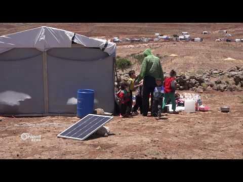 حركة نزوح للأهالي باتجاه مخيمات القنيطرة الحدودية