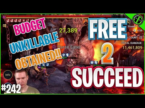 We FINALLY Finished Our F2P Unkillable Team!! | Free 2 Succeed - EPISODE 242