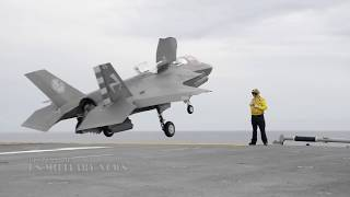 Watch This Crazy Footage: F-35B Short Takeoff/Vertical Landing (Amazing Compilation)