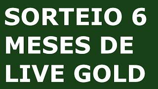 XBOX LIVE GOLD FREE SORTEIO 6 MESES (participe até 30/09) #GOLDFILIPEMG