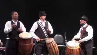 Candombe, cuerda de tambores uruguayos. Ruben RADA. Pq. Ctario. 11-7-15