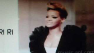 Rihanna Rated R live  AOL Sessions 2010