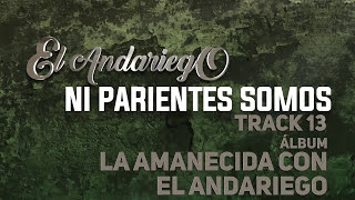 13. Ni Parientes Somos - El Andariego [Musica Popular]