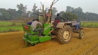 S kumar suger cane cutter planter Trunch system gobind industries Pvt ltd 8400599999