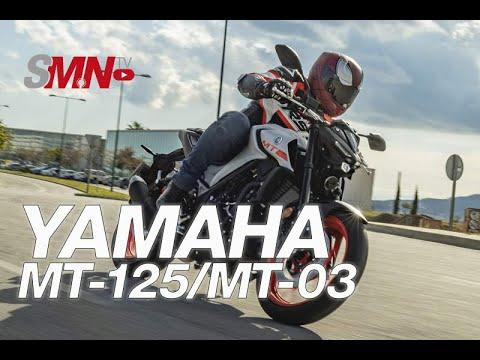 Prueba Yamaha MT-125 y MT-03 2020 [FULLHD]