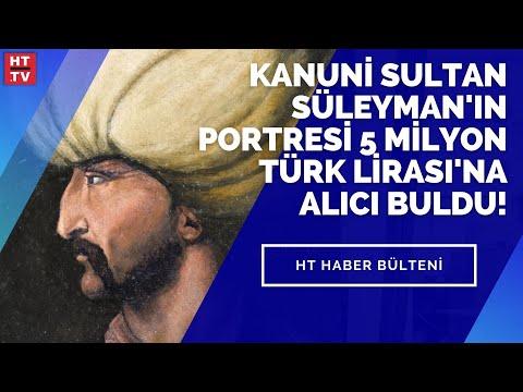 Kanuni Sultan Süleyman'ın portresi 5 Milyon Türk Lirası'na alıcı buldu!