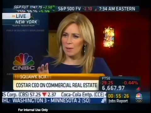CoStar's Andy Florance Talks to CNBC Squawk Box