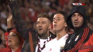 "O minuto 70 no Estádio da Luz - ""Eu amo o Benfica!""   Benfica x Sporting"