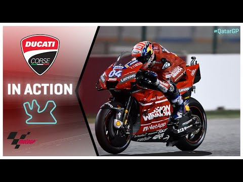 Ducati in action: VisitQatar Grand Prix