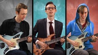 Batman & Superman Theme Song Mashup - Guitar Orchestra