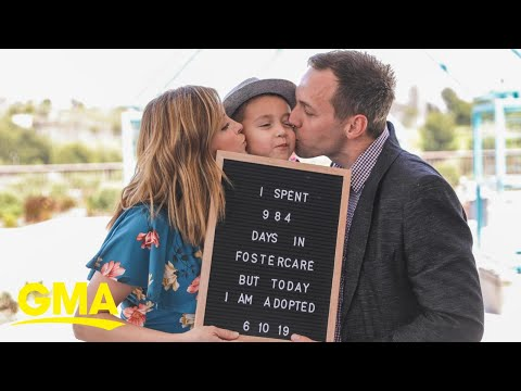Hallmark star is a mom on a mission to help fix the foster care system