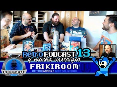 Retro Podcast #13 FrikiRoom | 5 RetroJuegos | Malas practicas de la industria | BGW | RetroNoticias