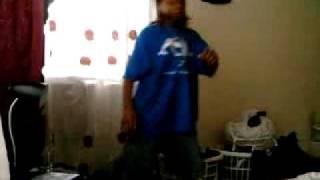 Red Rasta Dancing Hip Hop