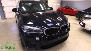 2016 BMW X5M Ceramic Pro ceramic coating and clear bra installation Boston, MA
