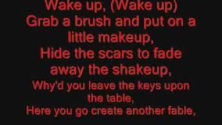 System of a Down - Chop Suey Lyrics