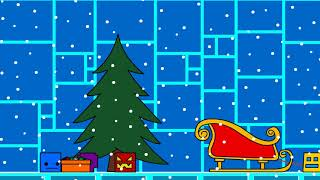 Geometry Dash Animation - Christmas Tree