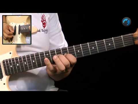 Padrão Melódico em Escala Maior - (aula técnica de guitarra)