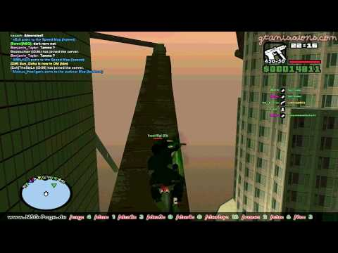 GTA San Andreas Multiplayer, (SA-MP) - PC - NRG Parkour!