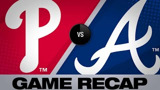 Offense powers Braves to 15-1 victory | Phillies-Braves Game Highlights 6/16/19