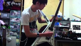 Black Veil Brides - Perfect Weapon guitar solo cover by Handsome Hsu