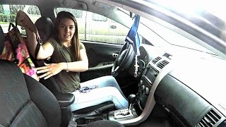 Teens first driving experience! Learners permit!