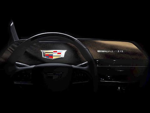 2021 Cadillac Escalade?s GIANT 30-inch Curved OLED Screen ? Teaser