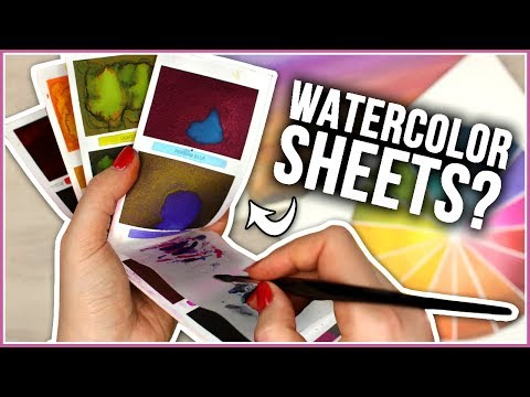 Worth The HYPE? Testing Viviva & Peerless Watercolor Sheets!