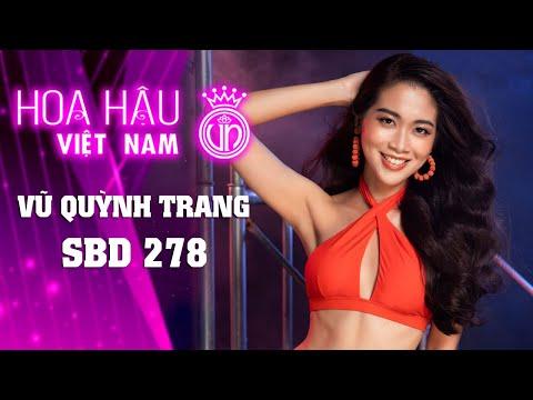 278 VŨ QUỲNH TRANG HOA HẬU VIỆT NAM 2020