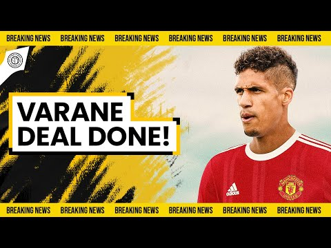 OFFICIAL! Varane Bid ACCEPTED!   Breaking Manchester United News