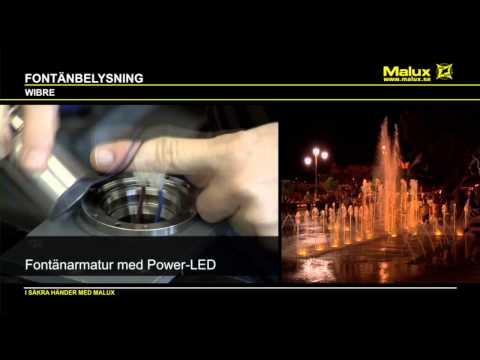 Fontänbelysning   Malux.se