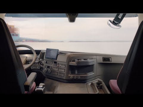 Volvo Trucks ? The new Volvo FM Interior Walkaround