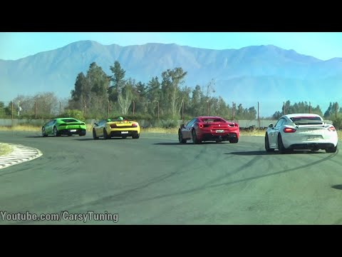 Time Attack Chile Codegua Junio - Performante, AMG GT R, GT3 y mas!