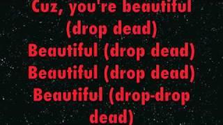 Drop Dead Beautiful - Britney Spears LYRICS ONLY