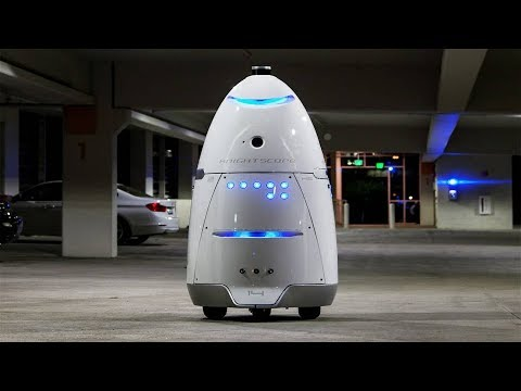 Robots Are Being Used To Stop Homeless People From Setting Up Tents