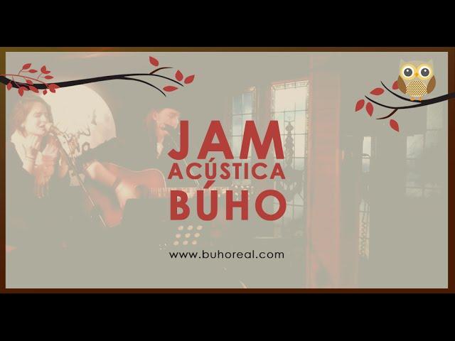 Video del Micro Abierto/Jam Acústica que se organiza en la sala.