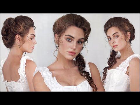 "elizabeth swann ""pirates of the caribbean"" 18th century hair & makeup tutorial"
