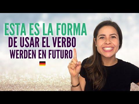 Esta es la forma de usar el verbo werden en Futuro / Alemán básico con Whitney