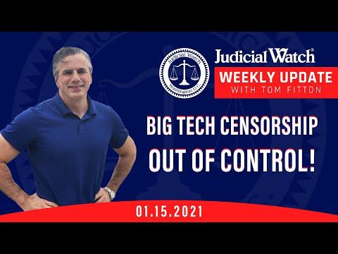 Sham Impeachment of Trump, Big Tech Censorship, Judicial Watch AND Biden Scandals NOT Going Away