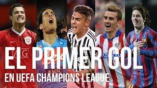El PRIMER GOL EN CHAMPIONS de Messi, C.Ronaldo, Dybala, Neymar, Cavani, Hazard, Lewandoski...