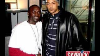 Booba ft Akon - Locked up - Live skyrock