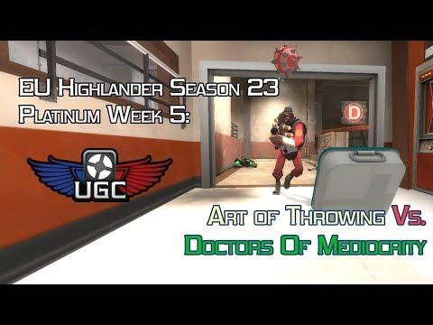 UGC EU HL S23 Plat W5: Art of Throwing vs. Doctors Of Mediocrity