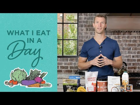 What I Eat in a Day | Daily Food Intake | Dr. Josh Axe