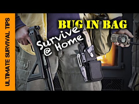 BUG IN BAG: 10 Essential Items YOU NEED to Survive ANY Disaster at Home - PART 2