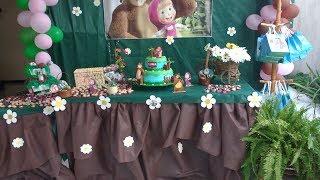 Aniversário Masha e o Urso