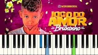 💎MC Bruninho - Jogo do Amor - Piano tutorial - MASTER TECLAS💎