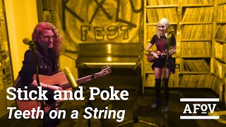 """Stick and Poke - """"Teeth On A String"""" (A Fistful Of Vinyl sessions) on KXLU 88.9 FM Los Angeles"""
